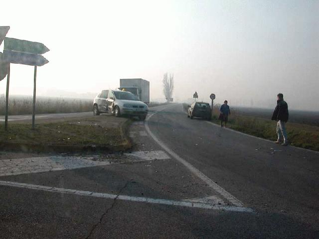 Incidente alle 4strade